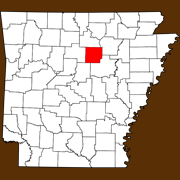 Cleburne County - Statewide Map