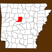 Conway County - Statewide Map