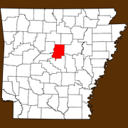 Faulkner County - Statewide Map