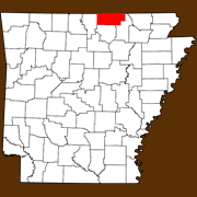 Fulton County - Statewide Map