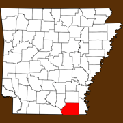 Ashley County - Statewide Map