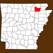 Lawrence County - Statewide Map