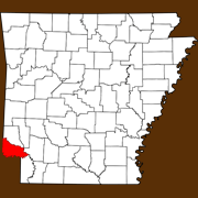 Little River County - Statewide Map