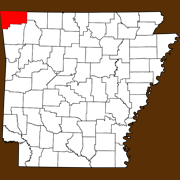 Benton County - Statewide Map