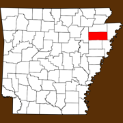 Poinsett County - Statewide Map