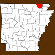 Randolph County - Statewide Map