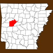 Yell County - Statewide Map
