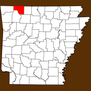 Carroll County - Statewide Map