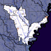 Watershed-Level Map - Lower White