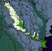 Watershed Land Use Map - Lower Arkansas