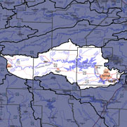 Watershed-Level Map - Ouachita Headwaters