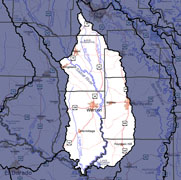 Watershed-Level Map - Lower Saline