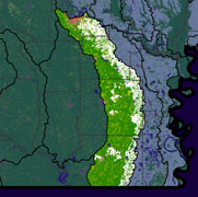 Watershed Land Use Map - Bayou Bartholomew