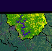 Watershed Land Use Map - North Fork White