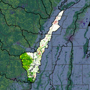 Watershed Land Use Map - Upper White-Village