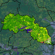 Watershed Land Use Map - Little Red