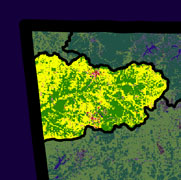 Watershed Land Use Map - Lower Neosho-Spavinaw