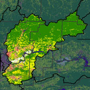 Watershed Land Use Map - Frog-Mulberry