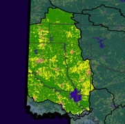 Watershed Land Use Map - Lower Little