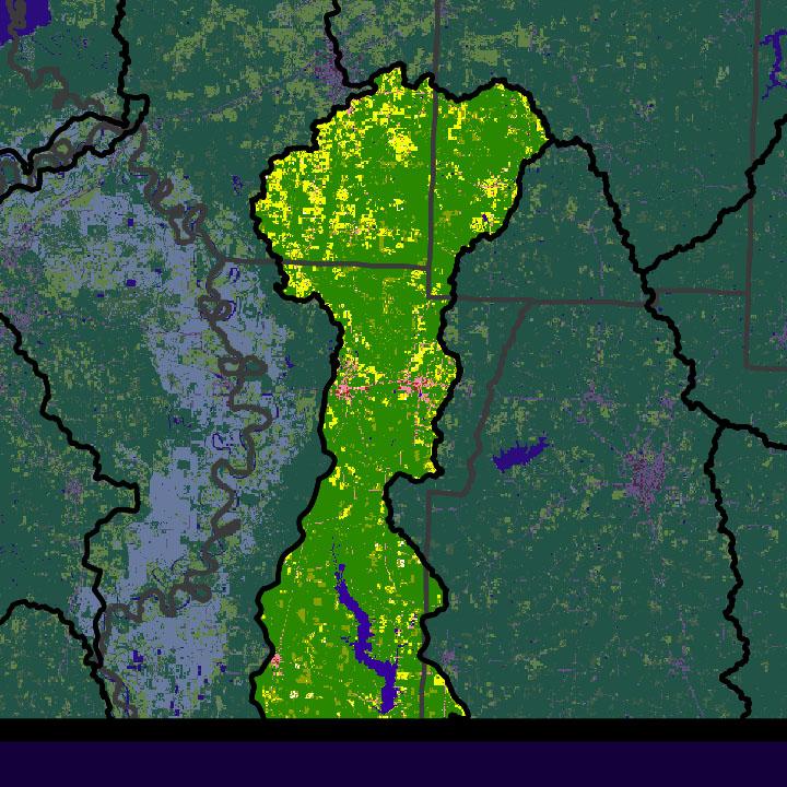 Bodcau bayou watershed 11140205 enlarge map freerunsca Gallery